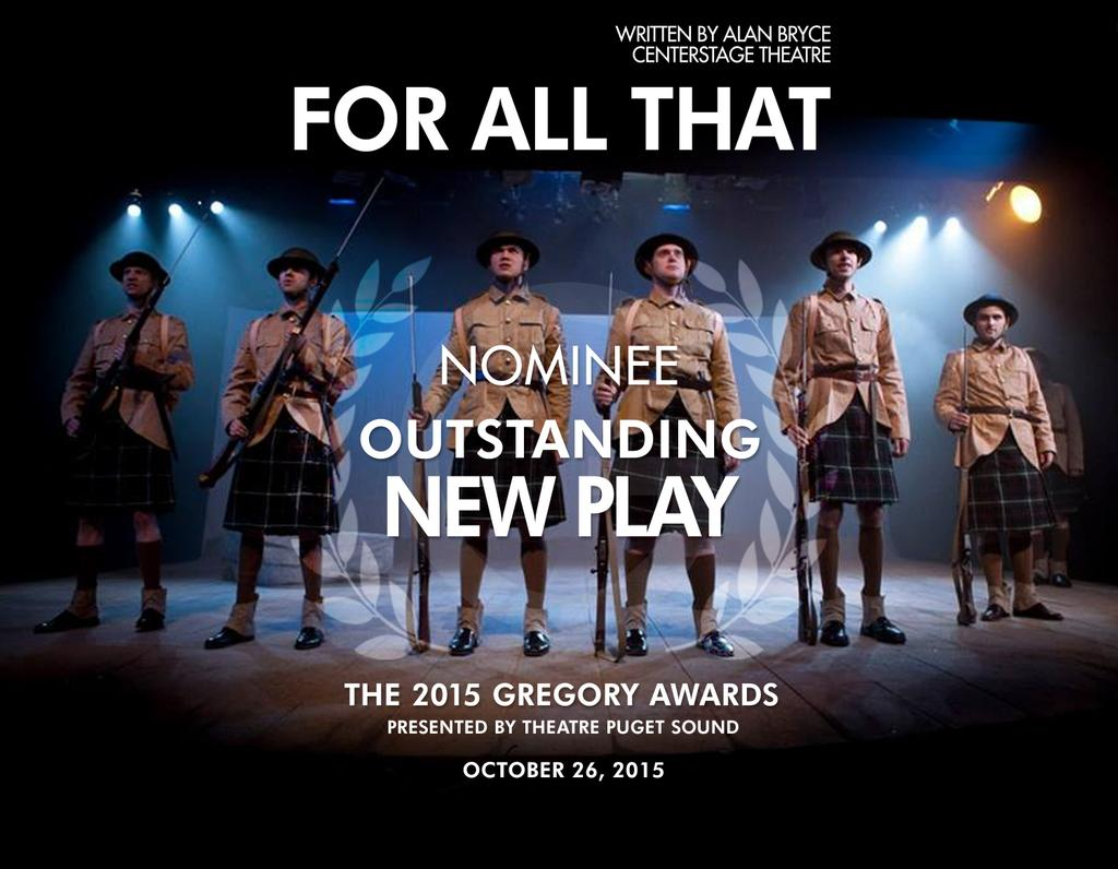 For All That Gregory Award Nomination
